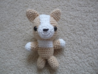 crocheted corgi @Elissa Englund you need to learn to make this for ... | 240x320