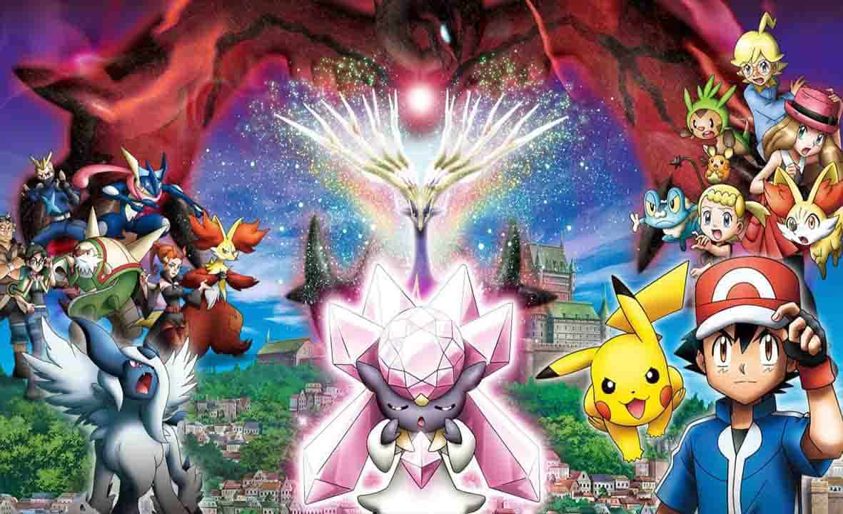 Pokemon Movie 17 Diancie And The Cocoon Of Destruction English