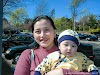 Tess & Baby Nica go to her Kaiser appointment