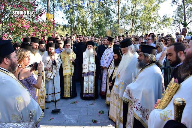 Αργολίδα: Λαμπροί εορτασμοί για τα 1.100 χρόνια από τη συνάντηση των Αγίων Πέτρου και Θεοδοσίου (βίντεο)