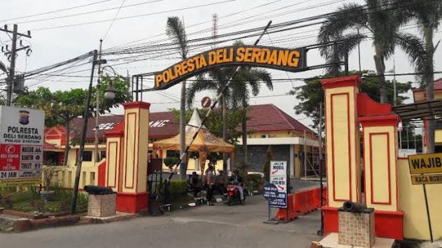 Perpanjangan SK Perangkat Desa, Polresta Deliserdang OTT Oknum Kades Tanjungpurba