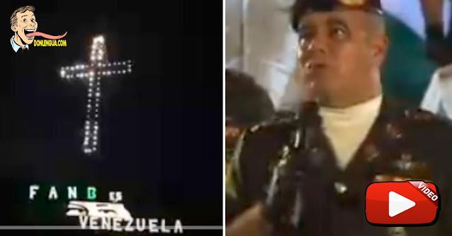 SACRILEGIO | Le pegaron los ojos del Fiambre Chavez a la Cruz del Ávila