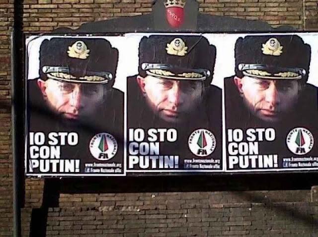 Em Roma: 'eu estou com Putin'. O trabalho sorrateiro russo quer manipular movimentos nacionais