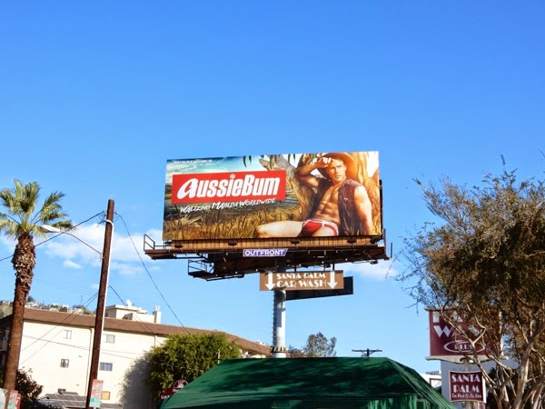 AussieBum mens underwear billboard West Hollywood