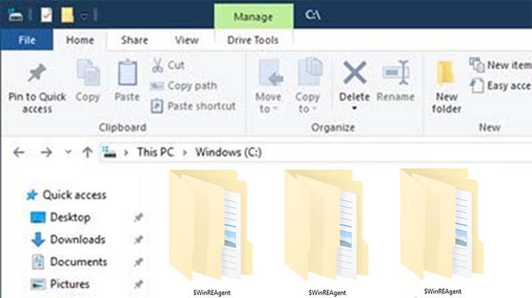 Apa Itu Folder $WinREAgent Yang Saya Lihat Berada Di Drive C?