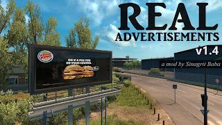 ets 2 real advertisements v1.4