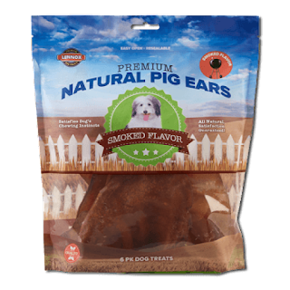 Lennox Recalling Natural Pig Ears Dog Treats