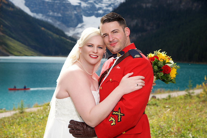 Summer Meadow Wedding Lake Louise