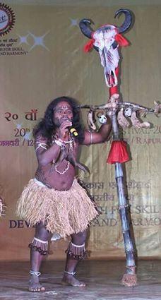 Sarbeswar Bhoi Sambalpuri Folk Dancer