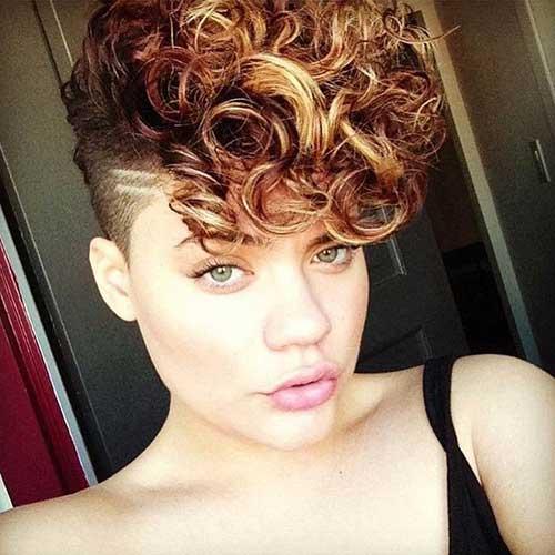 Super New Short Curly Hairstyles For Girls Jere Haircuts Short Hairstyles Gunalazisus