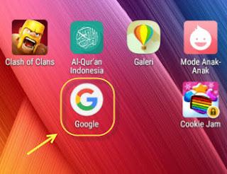 Aplikasi google app versi android