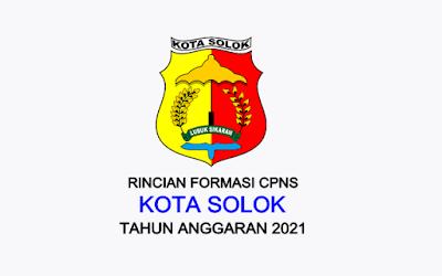 Formasi CPNS Kota Solok Tahun 2021