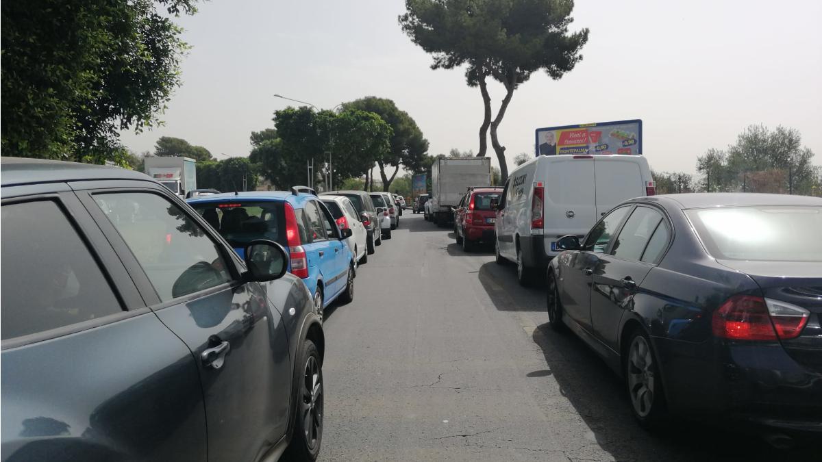 IV Municipio traffico circonvallazione presidio vigili urbani