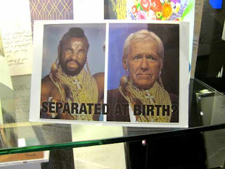 Mr T and Alex Trebek Dressed As Mr T