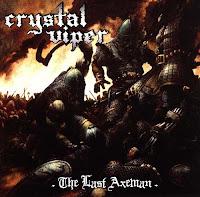 """Ο δίσκος των Crystal Viper """"The Last Axeman"""""""