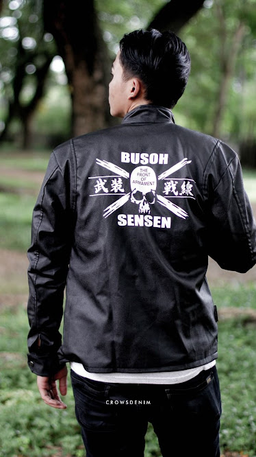 limited shoping a6 jaket kulit sintetis