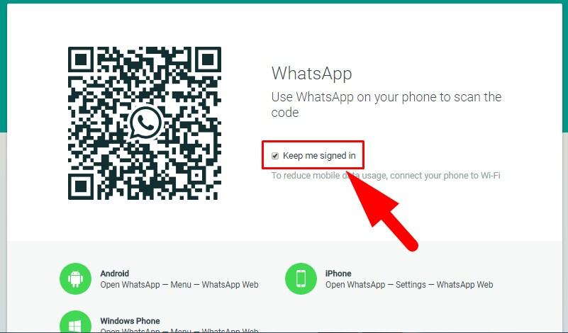 Cara Agar Whatsapp Web Tidak Scan Qr Kode Lagi Seen Day