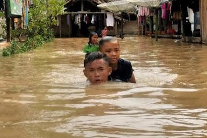 Banjir Pandeglang Banten meluas,7 kecamatan terdampak