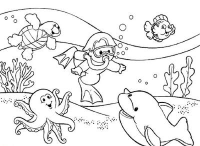 Sketsa Laut