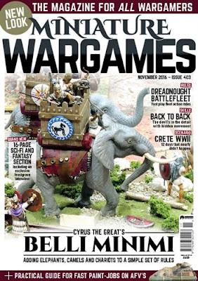 Miniature Wargames 403, 2016
