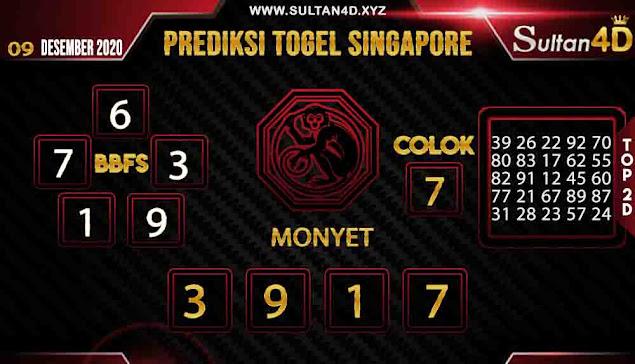 PREDIKSI TOGEL SINGAPORE SULTAN4D 09 DESEMBER 2020