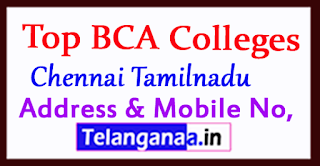 Top BCA Colleges in Chennai Tamilnadu