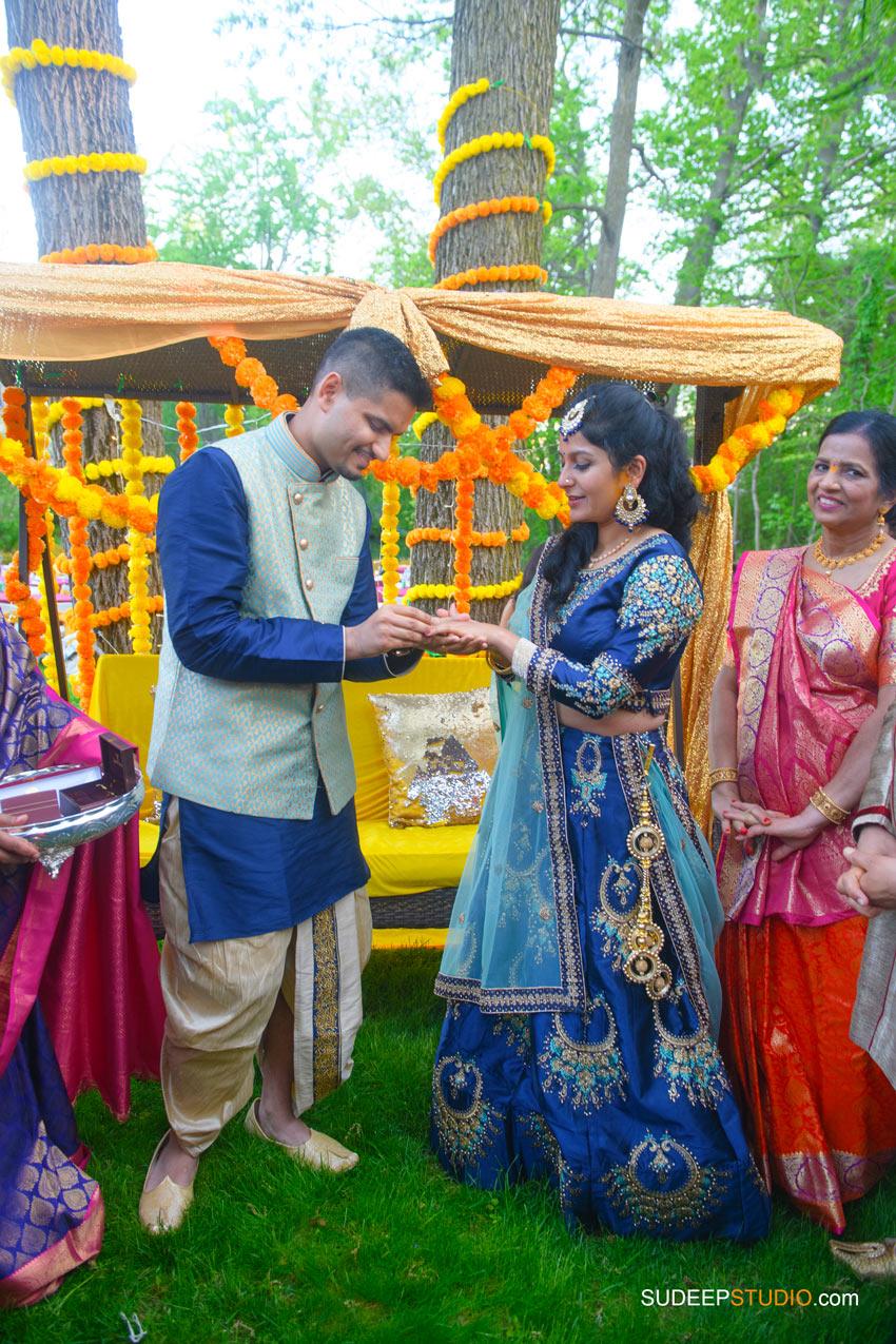 South Asian Indian Wedding Photography Outdoor Wedding Michigan by SudeepStudio.com Ann Arbor Indian Wedding Photographer