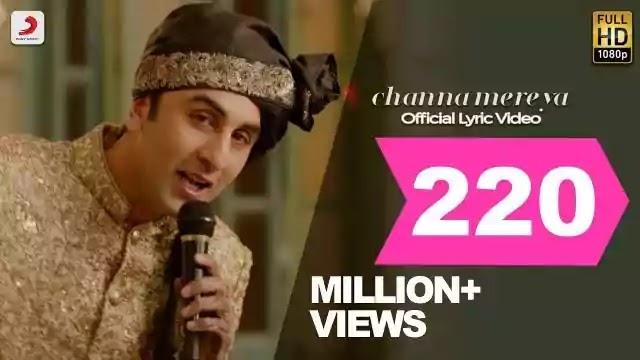 Channa Mereya Lyrics - Best Songs - Arijit Singh