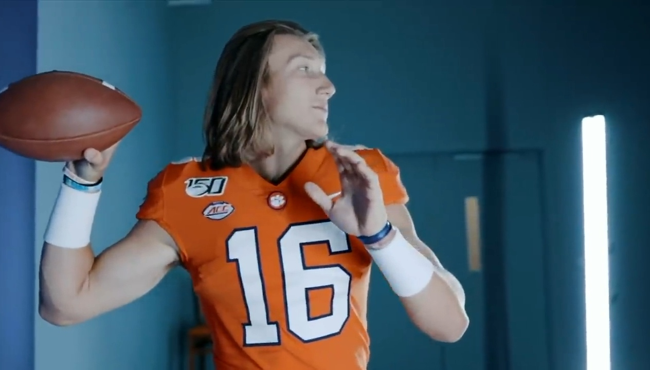 Trevor Lawrence, Clemson's third QB chosen in the first round of the NFL Draft