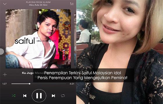 Setelah Penat Menjadi Lelaki, Saiful Malaysian Idol Ambil Keputusan Menjadi Perempuan?