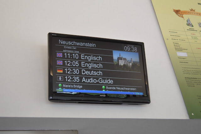 visita del castello di neuschwastein