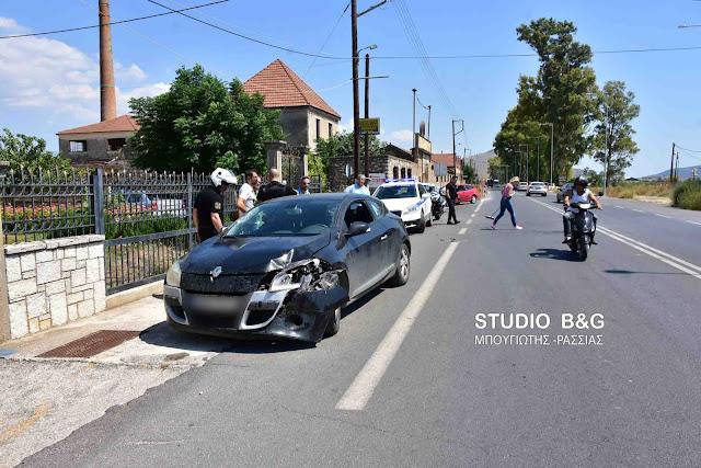 Σοβαρό τροχαίο ατύχημα στην οδό Άργους -  Ναυπλίου