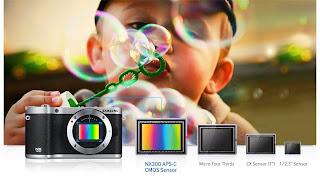 جديد SAMSUNG: كاميرا NX300 45m.m 2D\3D