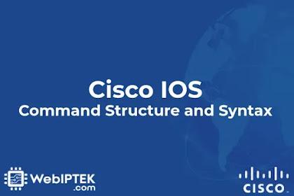 Struktur dan Sintaks Perintah Cisco IOS