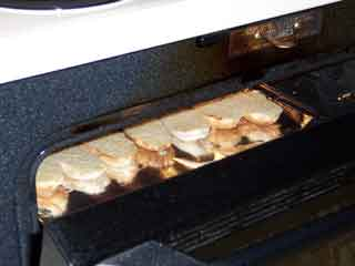 under the broiler
