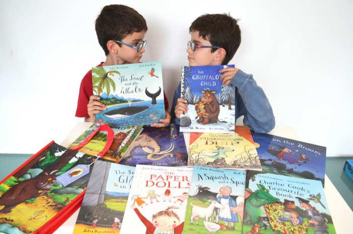 los mejores cuentos y libros infantiles en inglés Pack 10 libros julia donaldson con bolsa