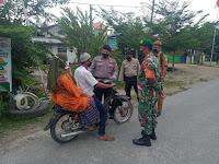 Polsek Tanjung Beringin Imbau Masyarakat Patuhi Prokes dan Fahami AKB