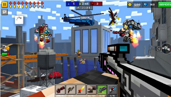 Pixel Gun 3D (Pocket Edition) Apk mod + data
