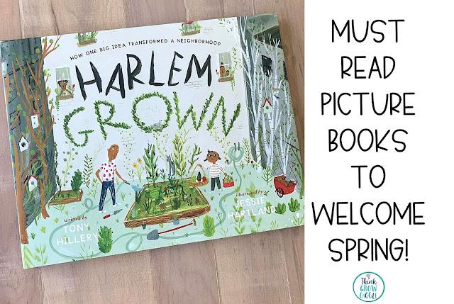 garden read alouds for kids