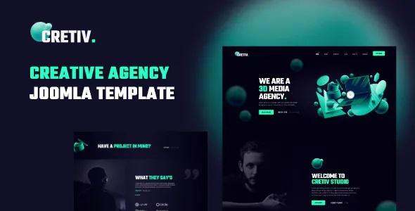 Best Creative Agency Joomla Template
