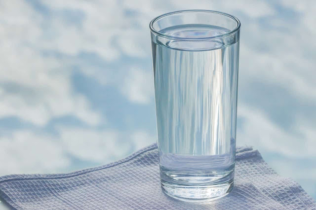 Make sure you drink at least 8 glasses of water