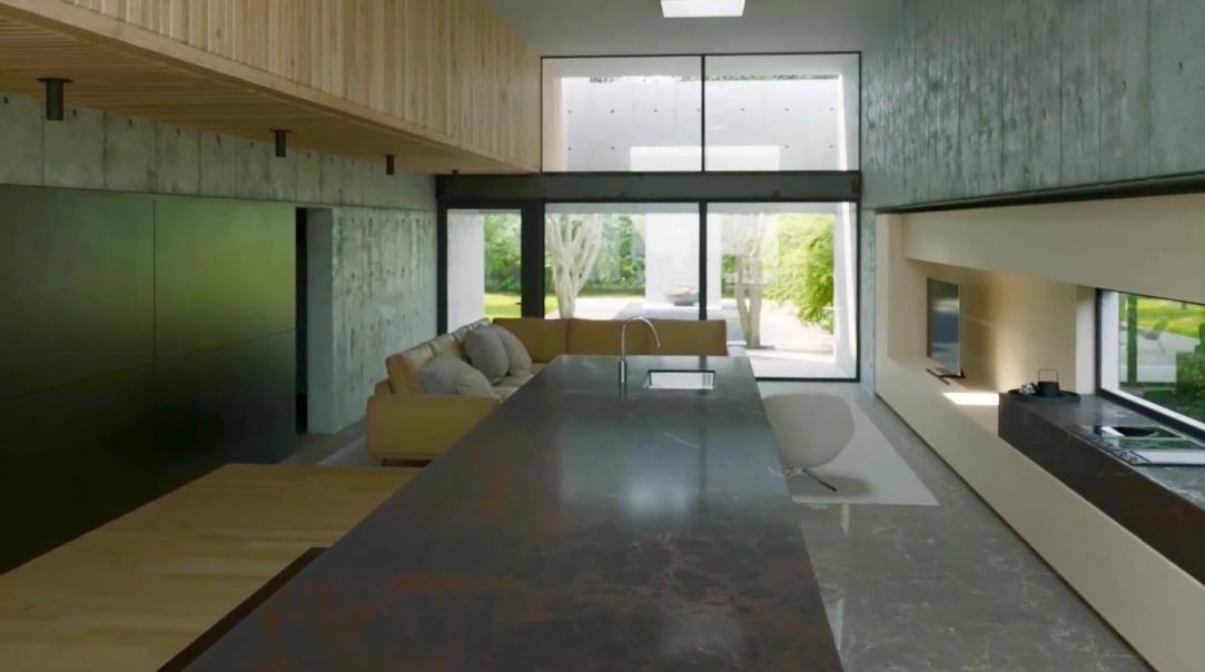 19 Interior Design Photos vs. 136 E 23rd St, Houston Concrete Box House Tour