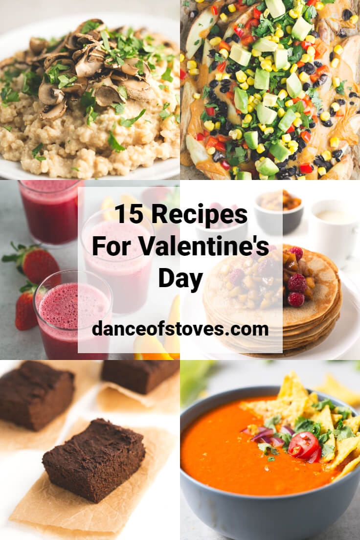 15 recipes for valentine's day
