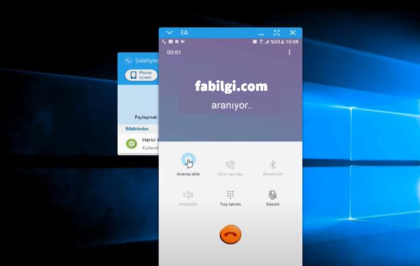 Bilgisayardan Telefon Araması Yapmak Ücretsiz Samsung 2021