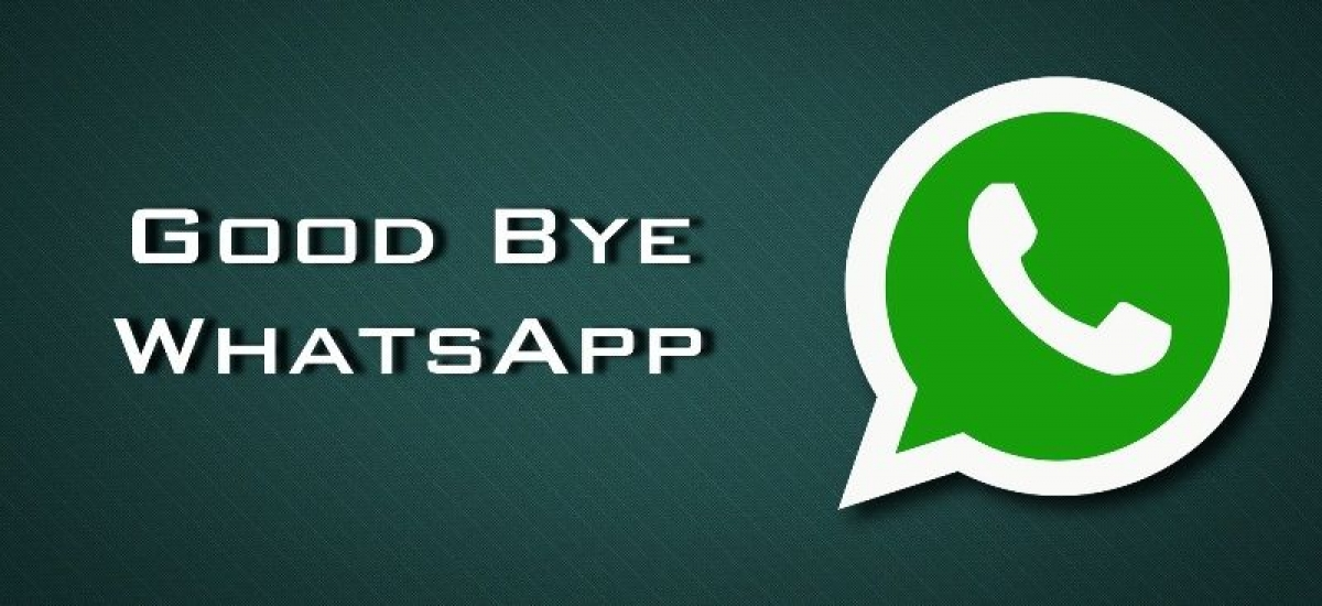 If you want to delete your WhatsApp account this is what you should do