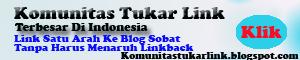 Komunitas Tukar Link Terbesar Di Indonesia