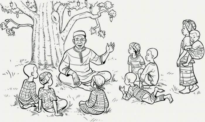 Nadharia ya Fasihi| Fasihi Simulizi ~ Mwalimu Makoba