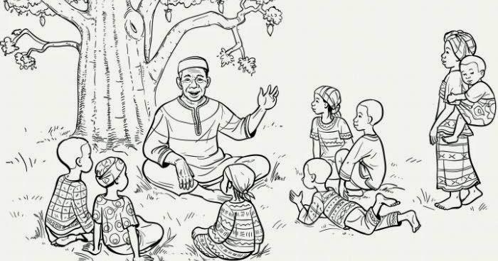 Nadharia ya Fasihi  Fasihi Simulizi ~ Mwalimu Makoba