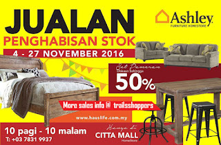 Ashley Furniture Stock Clearance Sale 2016