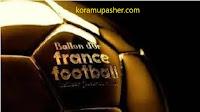 قائمة المشرحين لجائزة افضل لاعبي خط الوسط  في العالم لفرنس فوتبل